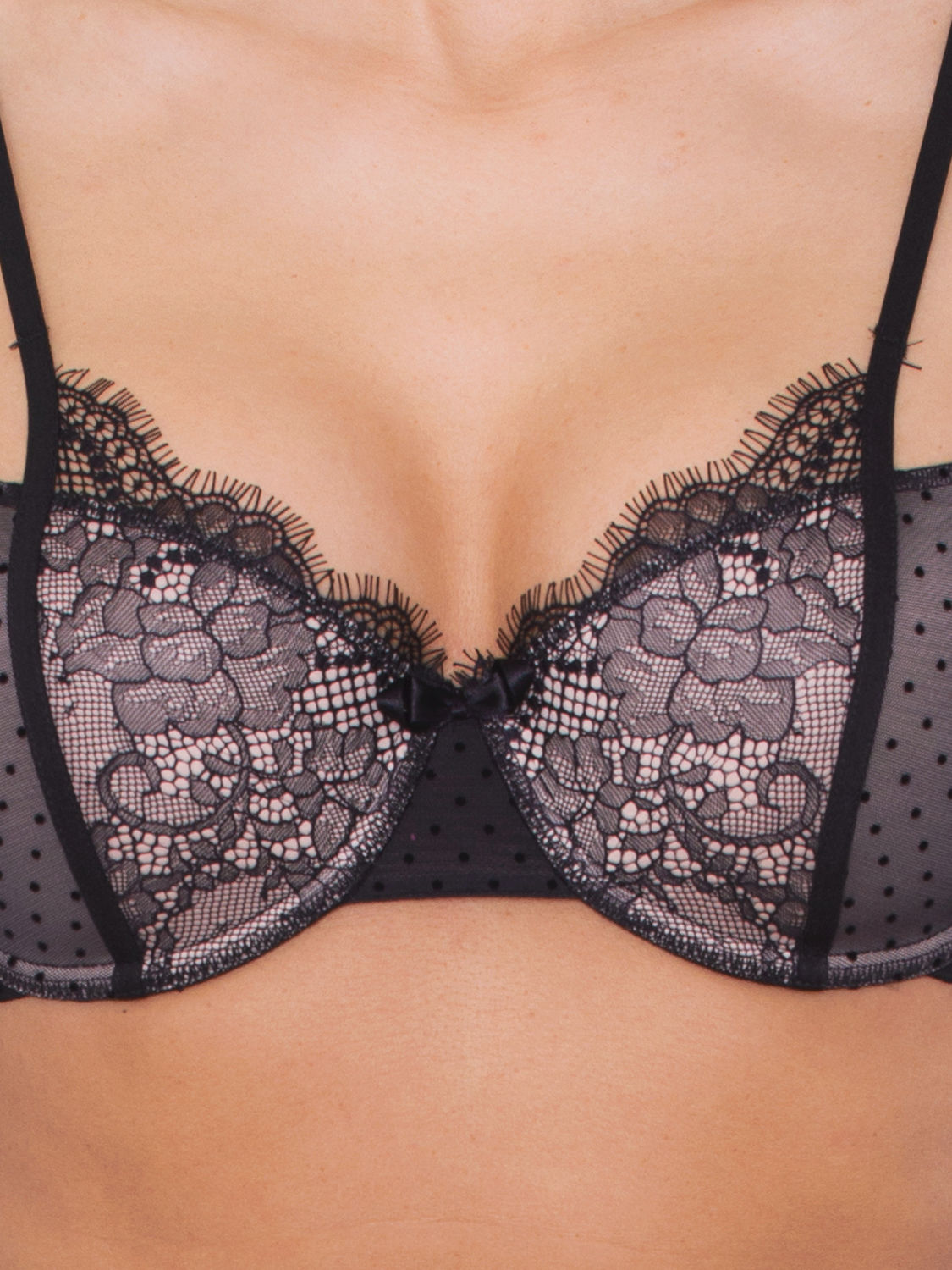 Passionata Belle de Jour Push-Up-BH schwarz