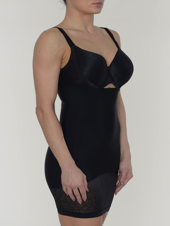 conturelle kleid+silhouette+farbe schwarz 0819823 online