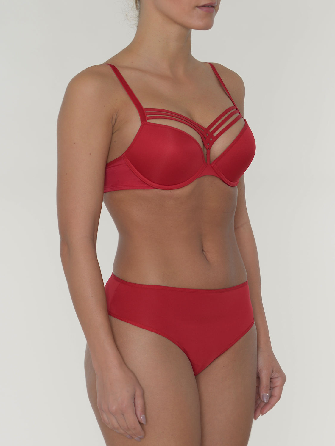 Marlies Dekkers Push-Up BH Dame de Paris Farbe Rot