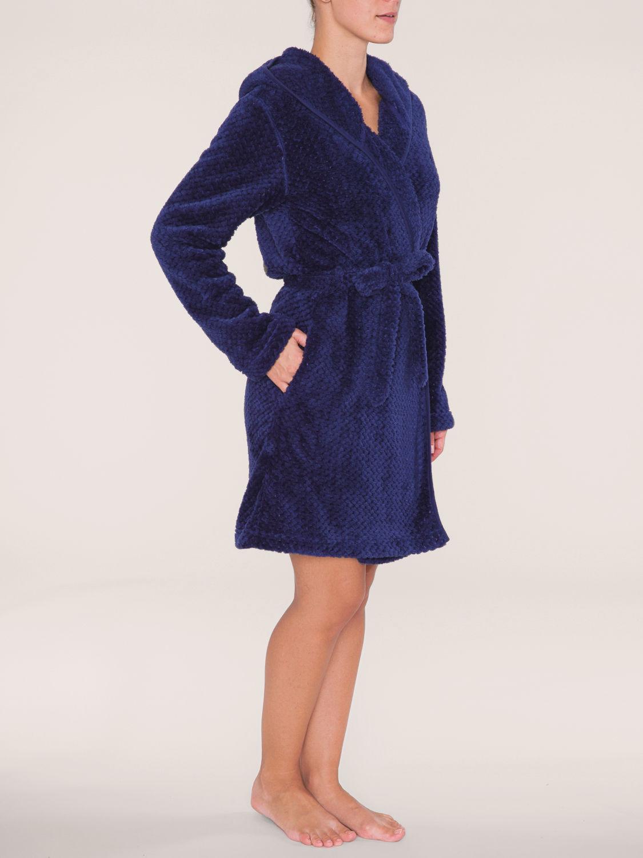 triumph robes aw15 robe01 bademantel dunkelblau 10155374 online bestellen bei herzog. Black Bedroom Furniture Sets. Home Design Ideas
