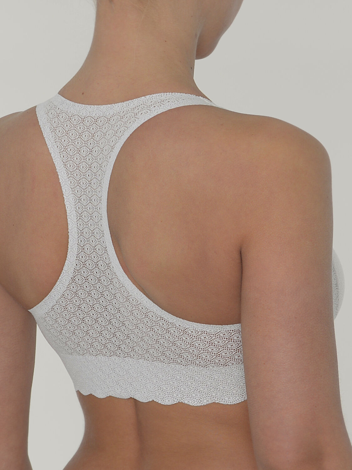 Sloggi Top Zero Feel Lace Farbe Angora