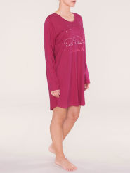 Triumph Nightdresses AW16 NDK 02 LSL Nachthemd langer Arm rot