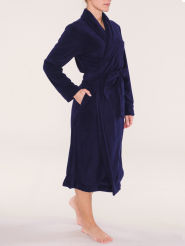 Triumph Robes AW16 Long Bademantel lang blau