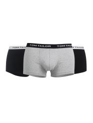 Tom Tailor 3er Pack Short Farbe Anthrazit-Melange-Black