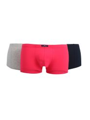 Tom Tailor 3er Pack Short Farbe Melange-Red-Navy
