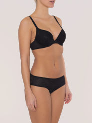 Triumph Body Make-Up Blossom  Push-Up-BH schwarz