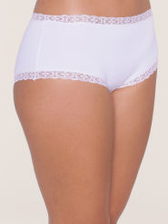 Triumph Light Basics Romance Short weiß