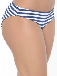 Freya Swim Drift Away Bikini-Slip blau-weiss