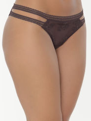 Passionata Tanga Fall in Love Farbe Brun Chocolate