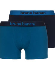 Bruno Banani Flowing 2Pack Short blau