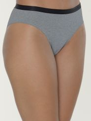 Sloggi High Leg Brief S by   Serenity Farbe Grey Combination
