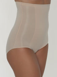 Wacoal Highwaist Brief Beyond Naked Cotton Farbe Sand