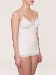 Triumph Light Essentials Rich Lace BV BH-Hemd angora