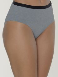 Sloggi Midi Waist Panty S by   Serenity Farbe Grey Combination