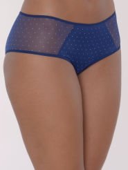 Passionata Miss Joy Shorty polka blau