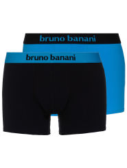 Bruno Banani Flowing 2Pack Short blau/schwarz