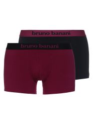 Bruno Banani Short Flowing 2Pack Farbe Schwarz / Bordeaux