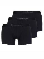 Bruno Banani Energy Cotton 3er Pack Short Farbe Schwarz