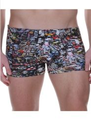 Bruno Banani Short Traffic Chaos Farbe Traffic Chaos Print