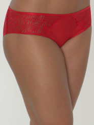 Chantelle Shorty Pyramide Farbe Mohnrot