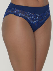 Triumph Slip Amourette Charm Tai Farbe Blue Dark Combination