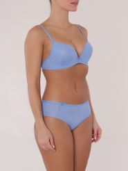 Sloggi sloggi Wow Comfort  Push-Up-BH ohne Bügel blau