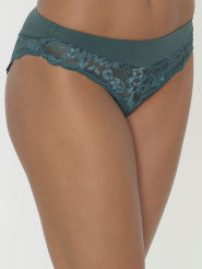 Taillenslip+Amourette Charm+Farbe Smoky Green