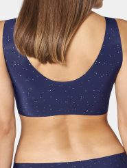 Sloggi Top Zero Feel Xmas EX Farbe Blue Dark Combination