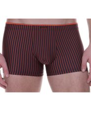 Bruno Banani Urban Network Short koralle anthrazit gestreift