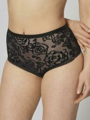 Triumph High Waist String Velvet Rose Spotlight Farbe Schwarz