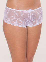 Passionata White Nights Shorty white sparkle
