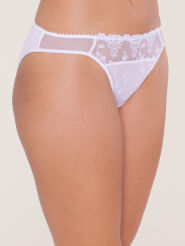 Passionata White Nights Slip white sparkle